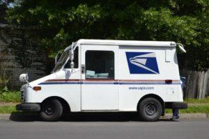 Camion De Courrier, Commis De Courrier, Mailman
